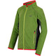 Regatta Pira Fleece Jacket Kids Lime Green/Seal Grey